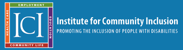 Link to Institute for Community Inclusion homepage