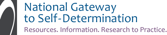 Link to National Gateway to Self-Determination homepage